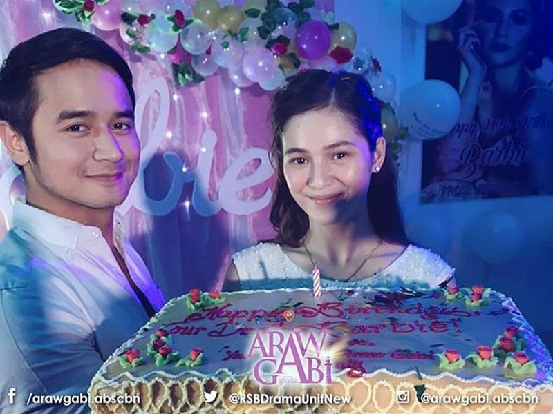 LOOK! Barbie Imperial gets a surprise birthday party from Araw Gabi fam!