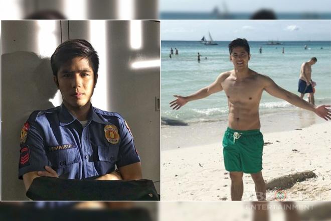 LOOK: Meet the cutie policeman on Araw Gabi