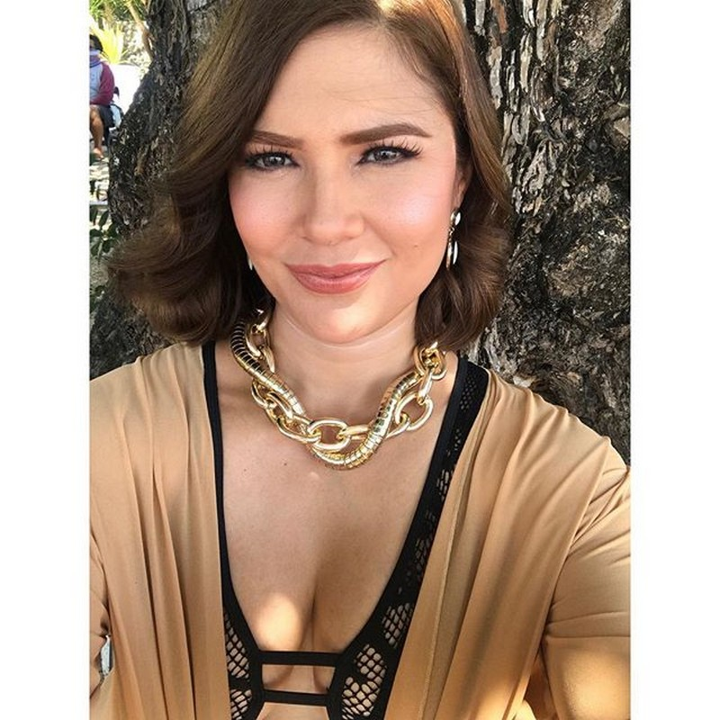 On the set of Araw Gabi: Vina Morales as Celestina de Alegre