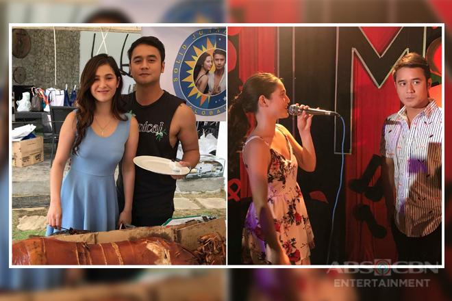 PHOTOS: Pasilip sa naganap na birthday celebration ni JM sa set ng Araw Gabi