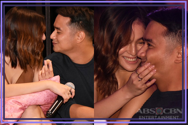 CAPTURED ON CAM: Sweet stolen moments of JuanBie at the #ArawGabiTakipsilim Viewing Party
