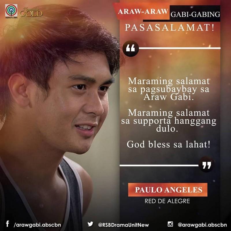 Araw Gabi stars, nagbigay ng pasasalamat sa lahat ng sumuporta sa kanila mula umpisa