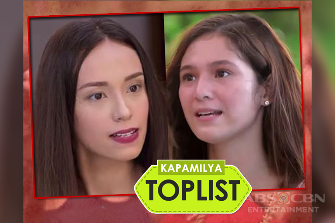 Kapamilya Toplist: 12 intense cat fights of Mich and Tanya in PHR: Araw Gabi